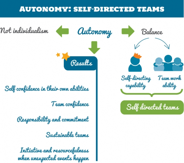 Autonomy: Self-Managed Teams