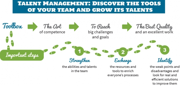 Talent Management: Discover the tools of your team and grow its talents